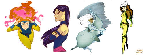 X-Ladies by ~fooshigi