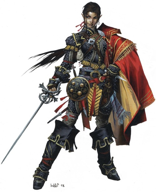 wesschneider:  I just linked this elsewhere and realized it might not be public knowledge: Did you know you could read the backgrounds on all of the Pathfinder RPG's iconic heroes just by clicking here? They're short, free stories giving you insight into the more than 30 characters who serve as the class-mascots and stand-ins for your character in all Pathfinder RPG adventures and products. They're an awesome, diverse array of heroes and we love them, so check them out! (Blast, the cropping keep chopping off some of their heads, but you get the idea!)