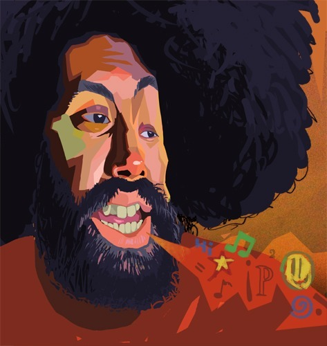 Reggie Watts, a genius in my eyes.