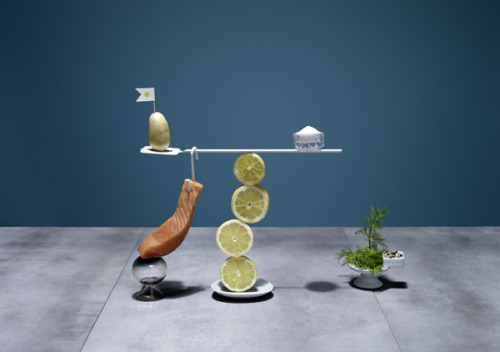 laughingsquid:  Ricettario, Recipes Visualized in Precariously Balanced Arrangements of Ingredients