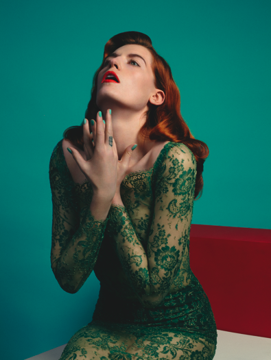 emotioncaptured:  Florence Welch by Matthew Stone for Clash Magazine #68