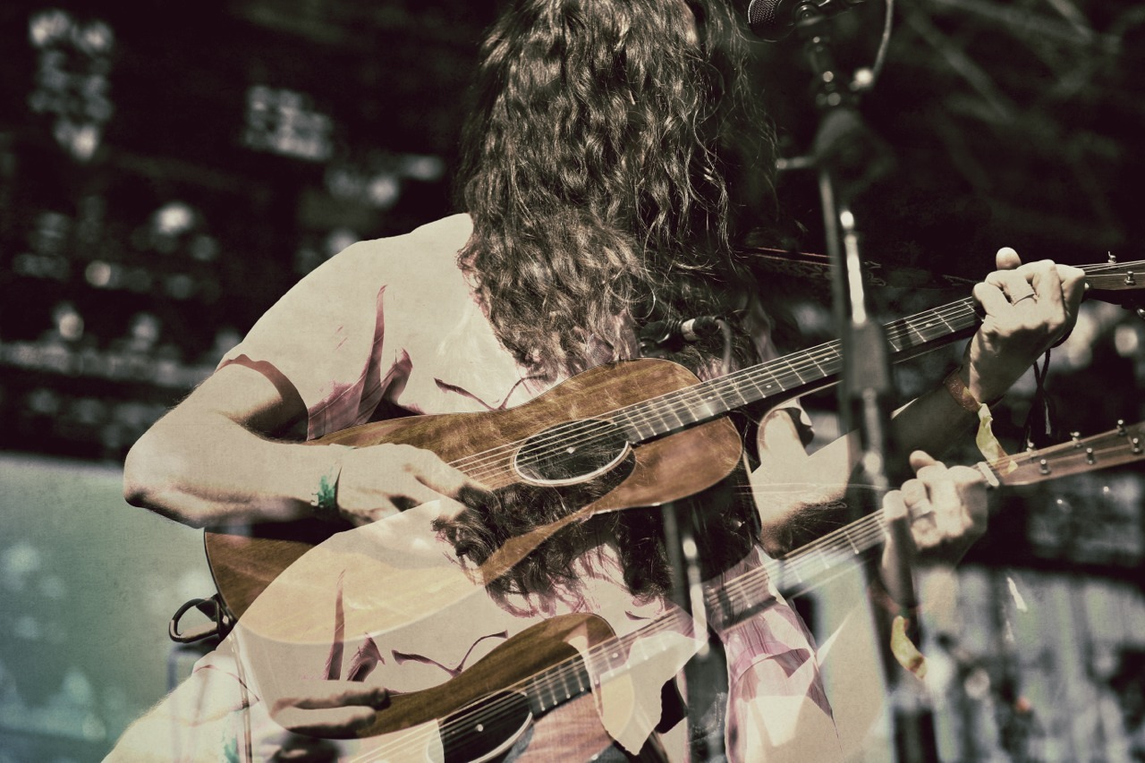 Kurt Vile at Coachella  Double Exposed Shot with markiii ©Shaunreganphoto