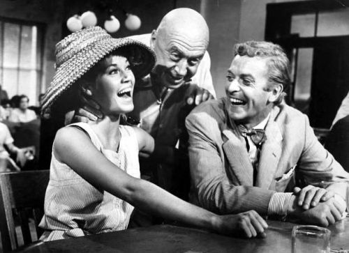 Could it have been nervous laughter that Otto Preminger elicited from the stars of Hurry Sundown, Jane Fonda and Michael Caine?