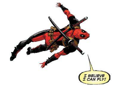 homovikings:  a transparent deadpool follows his dreams and you should too
