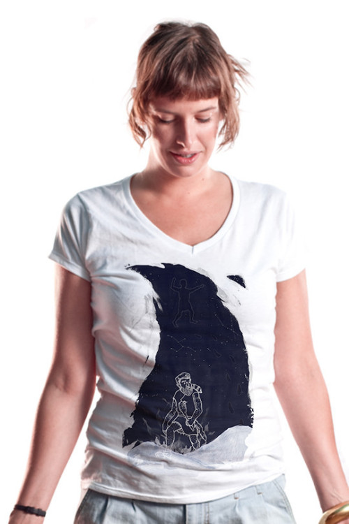 Mister Dress-Up is selling this shirt featuring my illustration work for just a couple more days. If you think it's worth it, grab yourself one maybe. Buy it here.