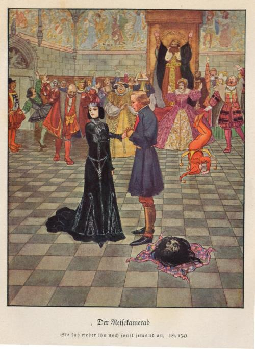 zombienormal:  Illustrated by Arthur Scheiner, from Andersen's Fairy Tales, 1920. Via janwillemsen on flickr.