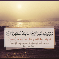islamicthinking:  Judgment Day Faces (Quran 80:38-39)