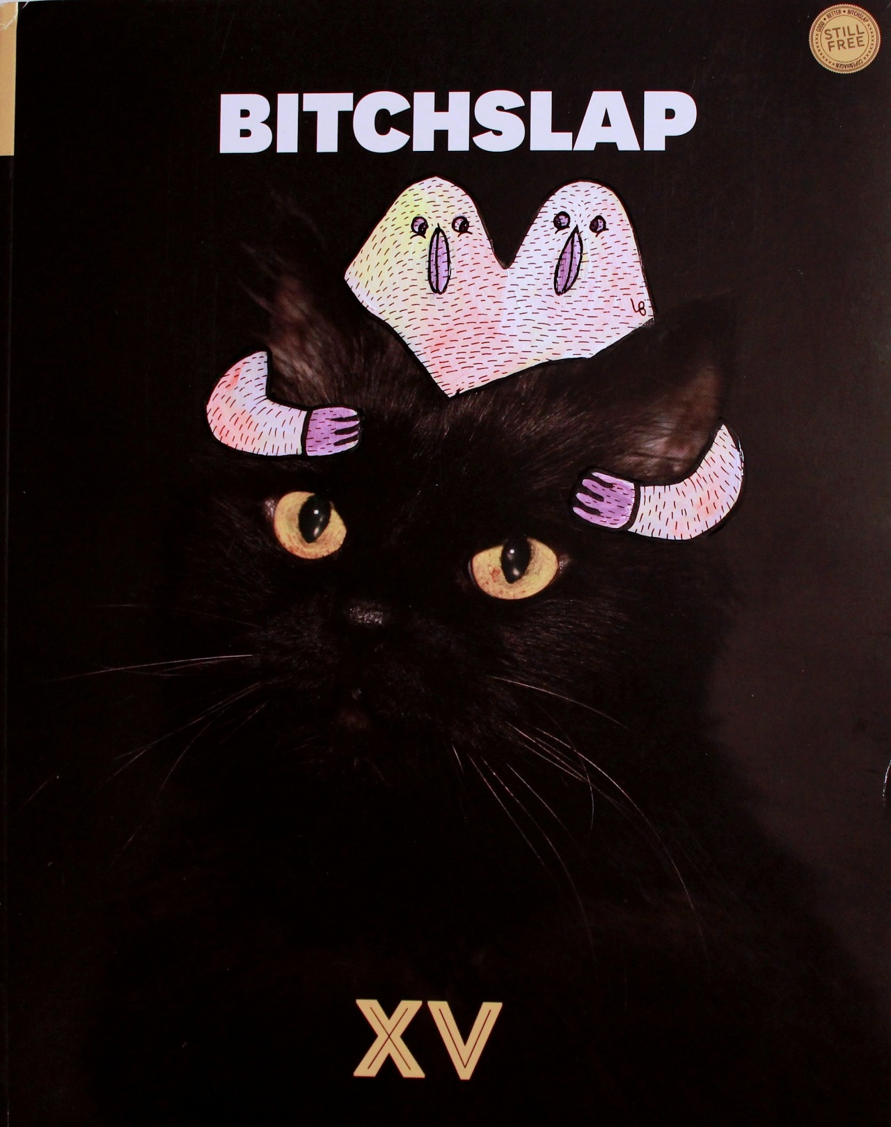 lucasbeaufort:  Bitchslap X LB Recover N°141 Black cat / Twins birds