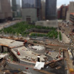 Aerial View 2. ^ps #TiltShift  (at 120 Greenwich St. Rooftop)