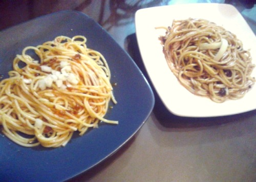 Bolognese and chicken mushroom for lil sista's dinner