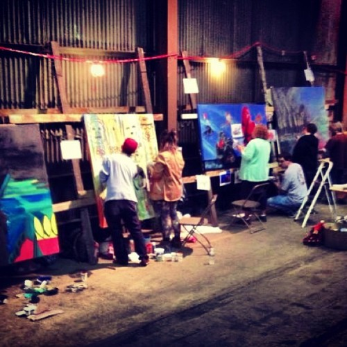 #art #artallnight #paint #artist #pittsburgh #lawrenceville  (at Art All Night)