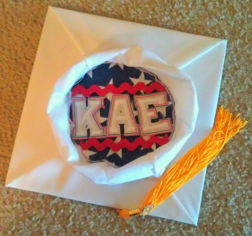 Decorated the inside of my cap today :)