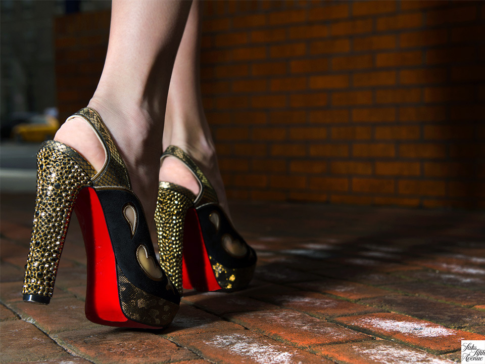 Baby got back, Christian Louboutin.Photo by Kristen Somody Whalen