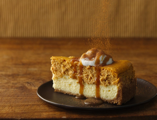 neekaisweird:  Pumpkin Cheesecake with Caramel Sauce Recipe (by Betty Crocker Recipes)