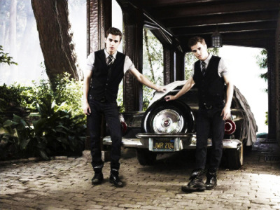 stefansalvation:  Stefan & Silas Salvatore new Promo Pic