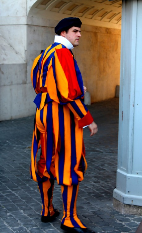 Some hot men from The Swiss Guard in Vatican City Part 2