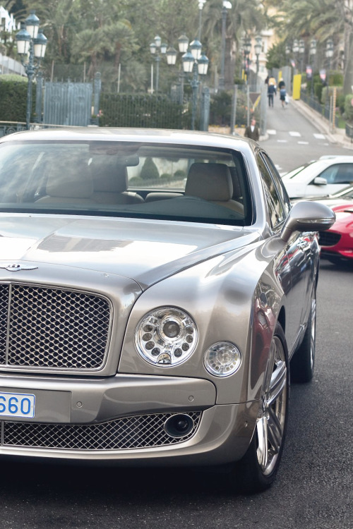 themanliness:  Bentley Mulsanne | Source | More