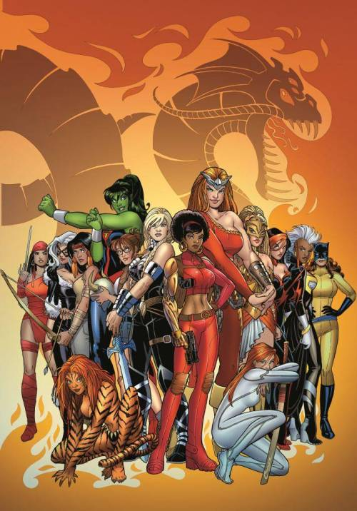 magnificentmarvels:  Fearless Defenders Issue 5 by Amanda Conner Marvel Comics