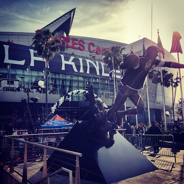 Always nice to be home. @LAKings