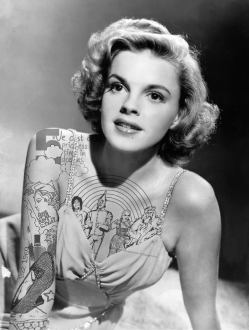 thievinggenius:  Judy Garland done by Jason  R Hill.