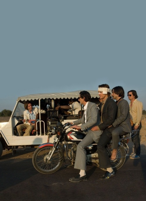 """mediohombre:  On the set from, """"The Darjeeling Limited"""""""