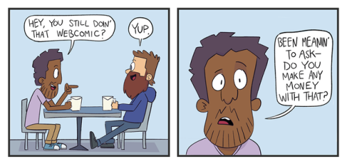 comic patreon money trick acomik webcomic spencer moreland