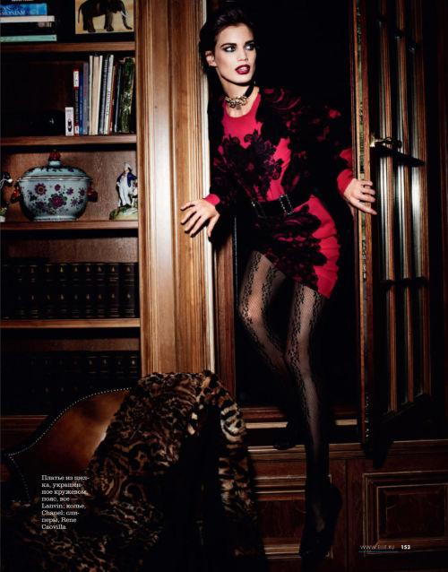 extrasexy:  Rianne ten Haken for Elle Russia December 2012