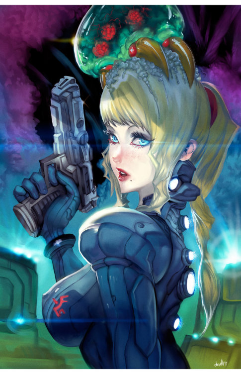 axxxrey:  Samus Zero Savior by =elsevilla