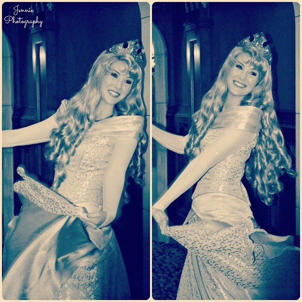 Aurora loves to dance. #Aurora #sleepingbeauty #Disneyland #Disneyland <3