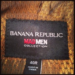 🍌 #bananarepublic #madmen #senior #ball