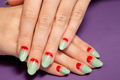 (via moveSlightly: Valentino Fall 2013 Nail Art on TeenVogue.com)
