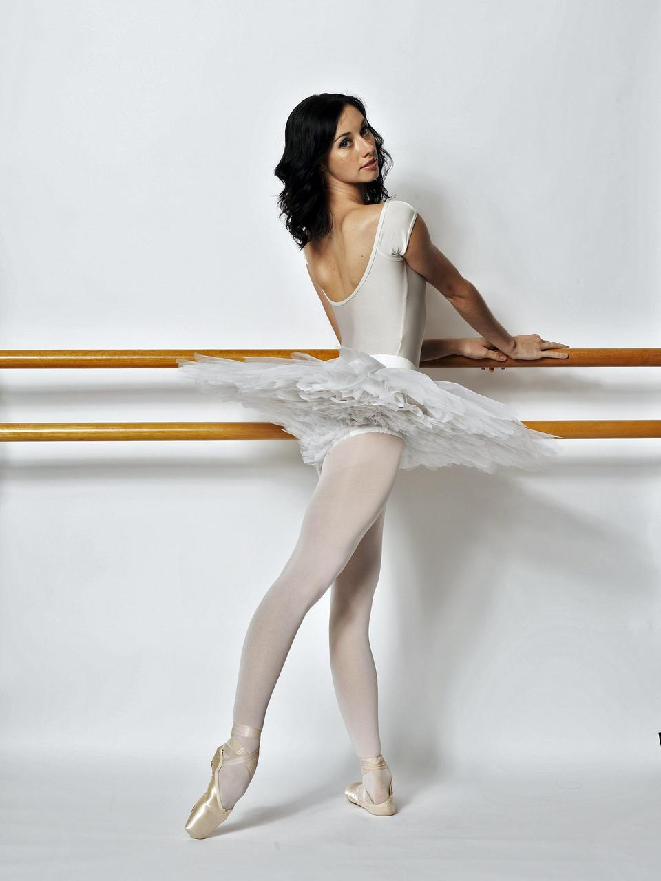Blonde ballerina ballet barre fucking - 1 7