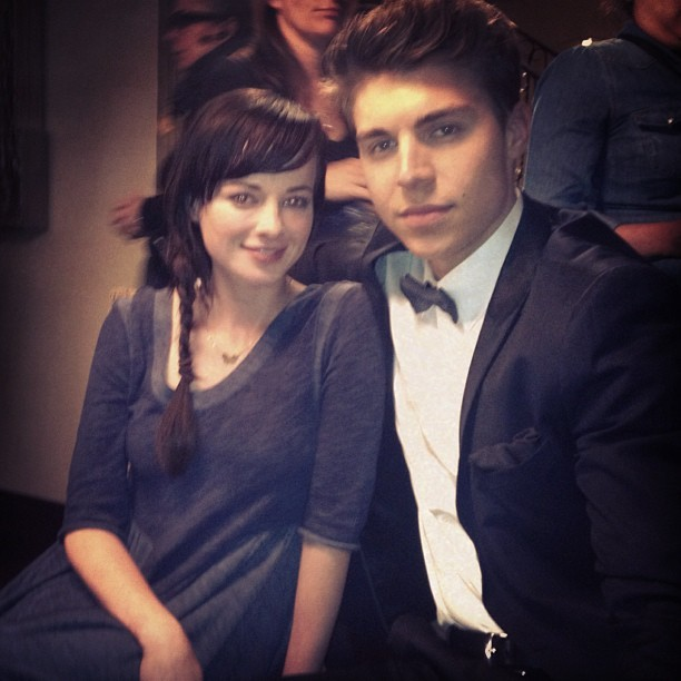 Photo: behind the scenes @mtvawkward last week #awkward #collin