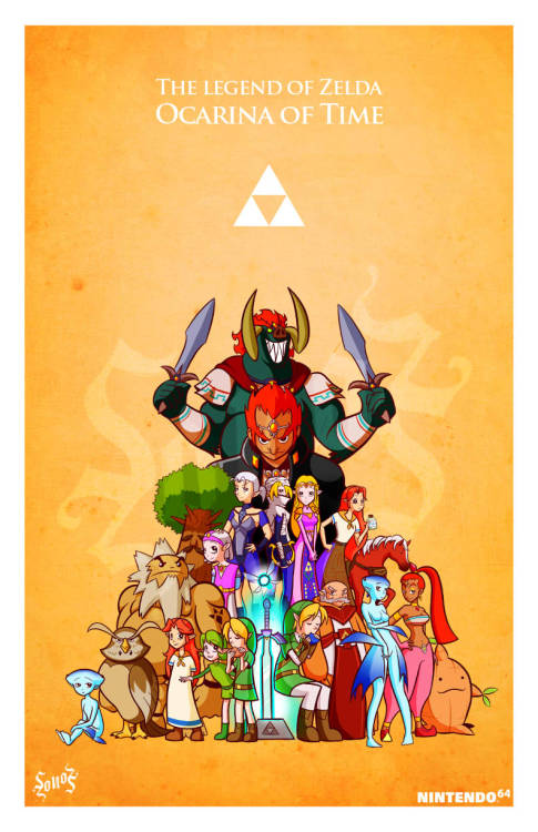 triforceof-power:  The Legend of Zelda : Ocarina of Time by ~Sonozdark