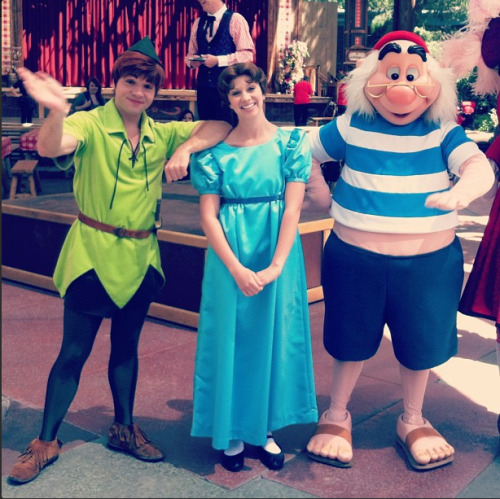 Peter Pan, Wendy Darling, and Mr. Smee