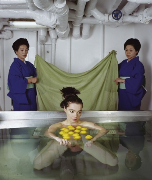 oxydes:  bjork in drawing restraint 9, directed by matthew barney, 2005