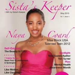 "The May ""Self-Esteem"" issue is now online…Visit www.sistaskeepermagazine.com #sistaskeeper"