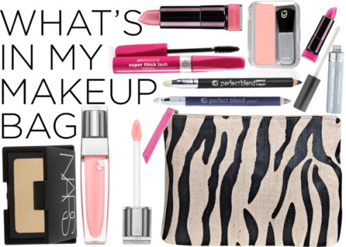 What's in My Makeup Bag por zada con covergirl ❤ liked on PolyvoreBy Malene Birger , $68 / Lancôme lip makeup / NARS Cosmetics , $36 / COVERGIRL  / COVERGIRL  eyeshadow / COVERGIRL pencil eyeliner / COVERGIRL