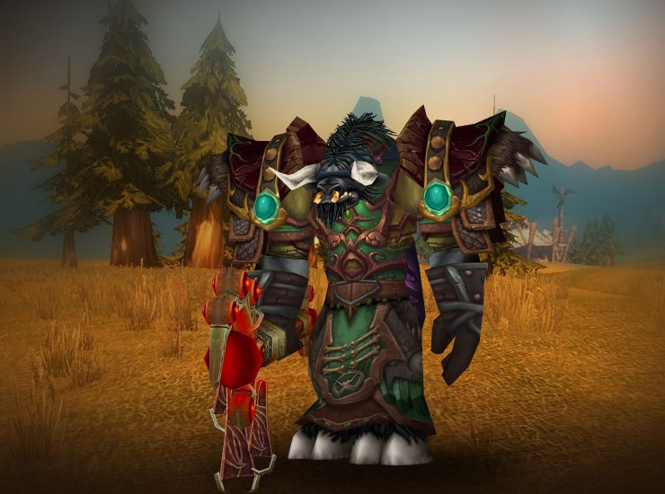Crucial Male Tauren Druid US Wildhammer [Cursed Vision of Sargeras] [Relentless Gladiator's Kodohide Spaulders] [Dreadful Gladiator's Cape of Prowess] [Sunglow Vest] [Subjugation Bracers] [Ghost Fox Gloves] [Steppebeast Belt] [Kilt of Immortal Nature] [Boots of Plummeting Death] [Twisted Visage]