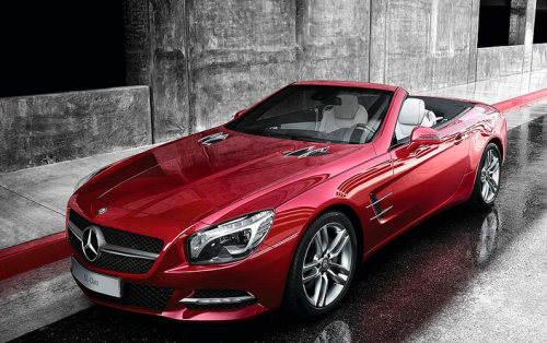 blessed-in-abundance:  Mercedes-Benz SL550 Roadster