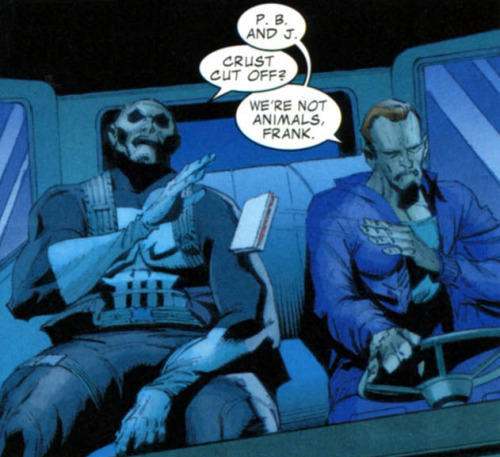 redunderwear:  #the most important punisher panel of all time