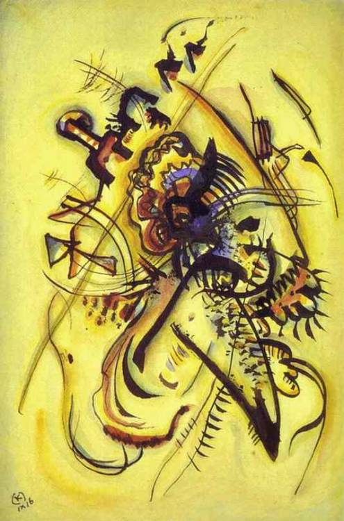 german-expressionists:  Wassily Kandinsky, To the Unknown Voice, 1916