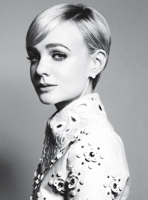 Carey Mulligan: Carey, Carey, Quite Contrary - W by Michael Thompson, January 2012