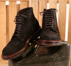 vagabondbrothers:  Alden + Context - Rough Roy Boot Earth Chamois