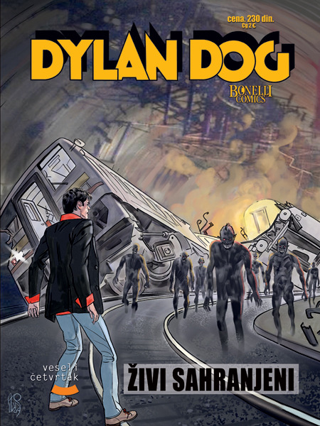 "veselicetvrtak:  ""Dilan Dog"" #64 već je na svim kioscima!   Dylan Dog. All I want to read at the moment."