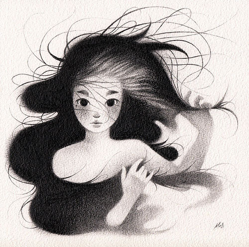 tumblr mocj5bVIkF1rfltouo8 500 Mary Ann Licudine. Emotional, delicate and intimate black and...