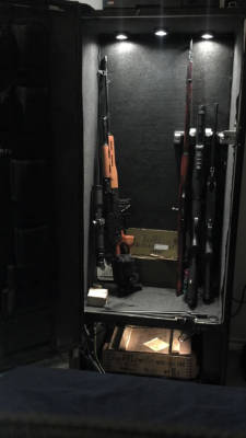 Pepsi soda pop machine converted into gun safe
