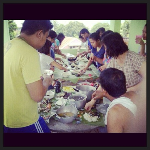 While everyone's busy voting. Haha! #boodlefight #family