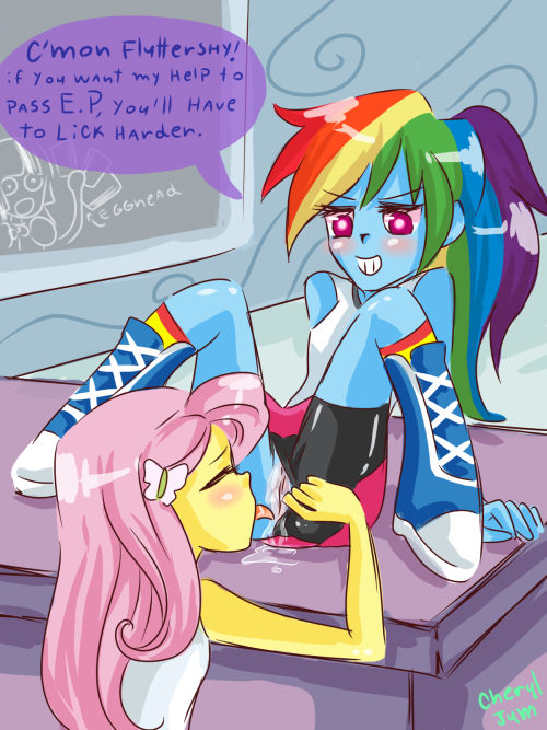 horny-horn:  meanwhile in equestria girls   IT BEGINS