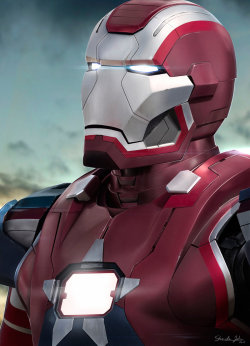 IRON PATRIOT by *Sheridan-J —-x—- More: | Marvel | Random |